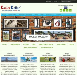 Kooler Kollar® Outdoor Cooling for Humans and Friends