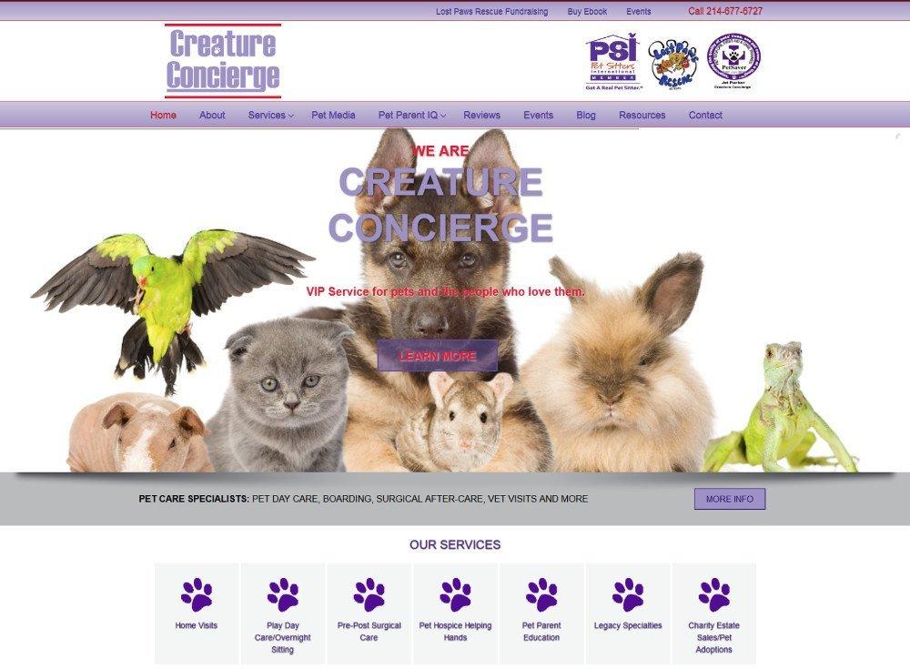 Creature Concierge, creatureconcierge.com