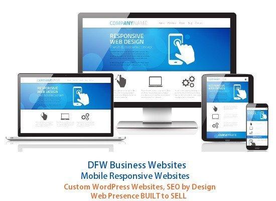 DFW Business Websites - Digital Marketing, SEO Websites Built to Sell