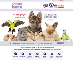 Creature Concierge - Dallas Pet Care Service Specialists