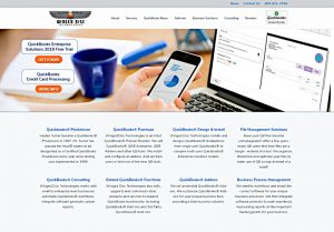 Winged Disc Technologies · Dallas QuickBooks Certified ProAdvisor, winged-disc.com