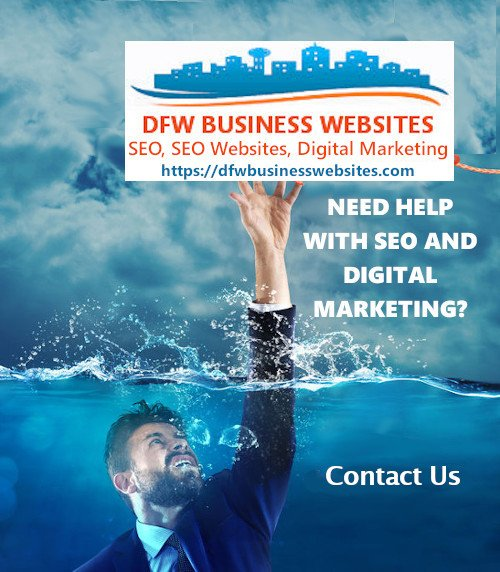 DFW Business Websites - SEO Digital Marketing - Done Right. We Get Search Ranking Results 2021